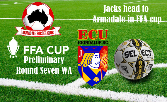 Jacks travel to Armadale in FFA Cup