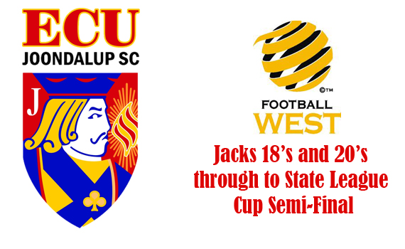 Jacks under 18's and 20's reach Cup Semi-Finals