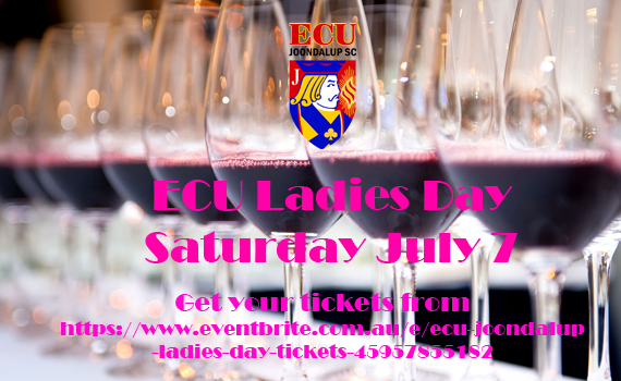 Get you tickets for the ECU 'Ladies Day'