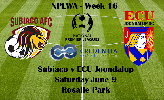 Jacks head to Subiaco in NPLWA Week 16