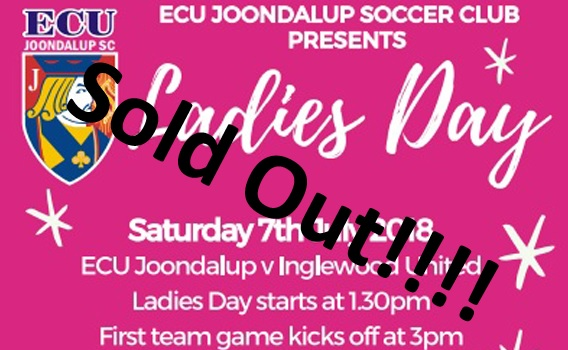 ECU Ladies Day Sold Out!!