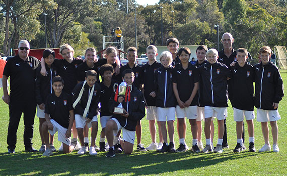 Jacks under 14's take out the double
