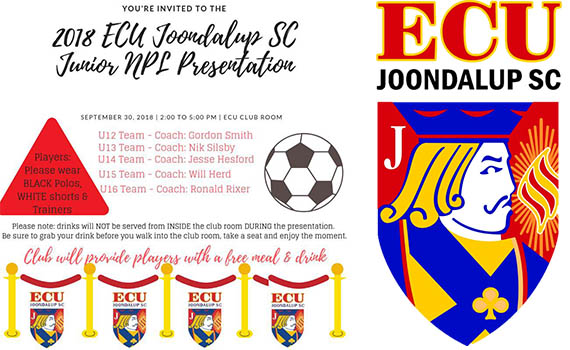 ECU Joondalup NPLWA Junior Presentation Day