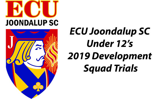 ECU Joondalup SC – Under 12's Development Squad Trials