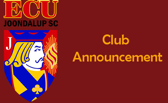 ECU Joondalup NPL Trials 2019 – Closed
