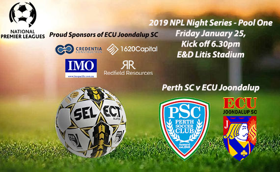 Perth SC first up in NPL Night Series