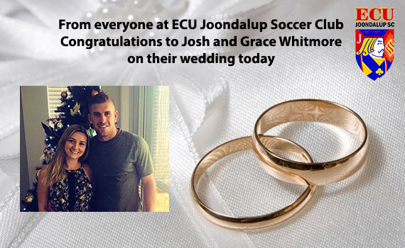Congratulations Mr and Mrs Whitmore