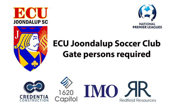 Gate Persons required at the ECU Football Stadium for 2019