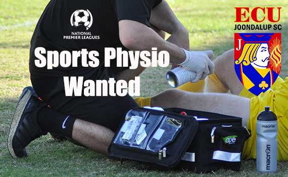 Sports Physio required at the Campus