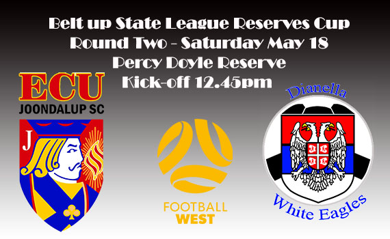 Jacks to take on Dianella White Eagles in Reserves Cup