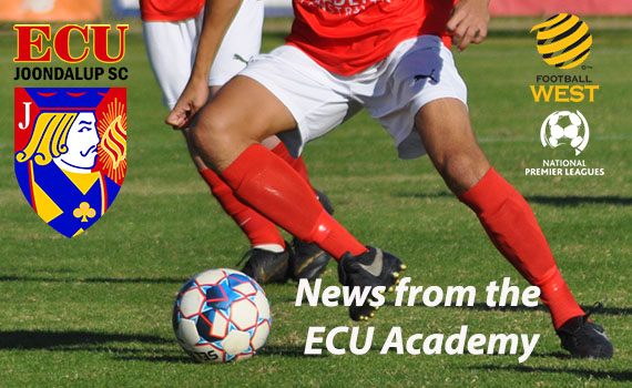 ECU Joondalup SC Academy Fixtures this weekend