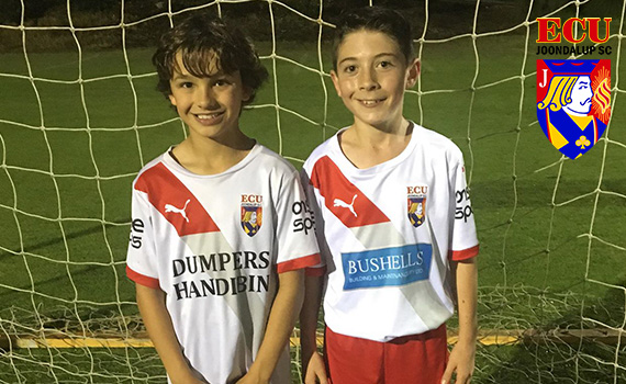 ECU Joondalup Soccer Duo excel on the Pitch and the Track
