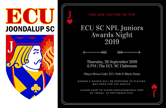 ECU Joondalup SC NPL Junior Awards Night