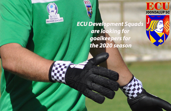 Keepers wanted for ECU Development Squads