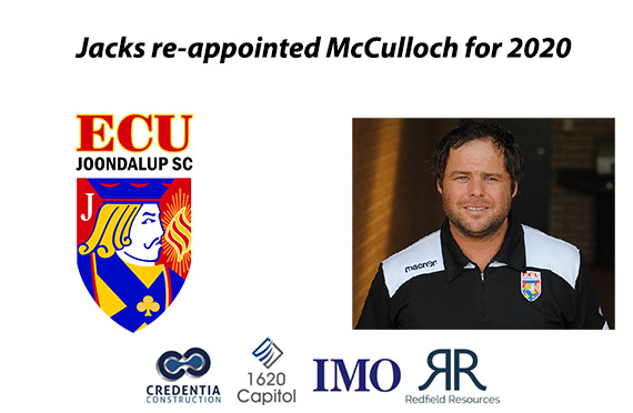 Jacks appointment McCulloch for 2020
