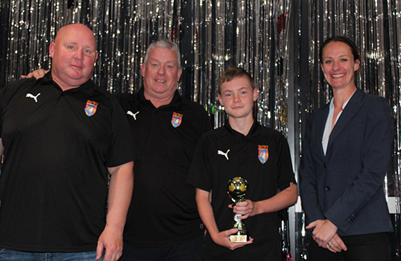 Jacks NPL Under 13's Awards Winners