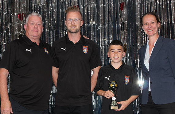 Jacks NPL Under 14's Awards Winners