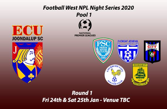 Jacks drawn in Pool 1 for NPL Night Series