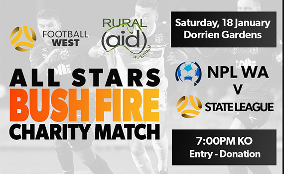 Jacks duo selected in NPL squad for Bushfire Charity match