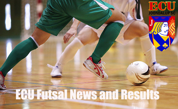 Latest results and news from the ECU Futsal competition
