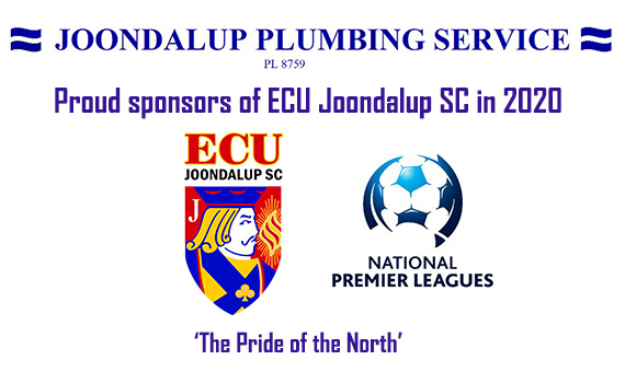 Welcome to Joondalup Plumbing Service – New Sponsor for 2020
