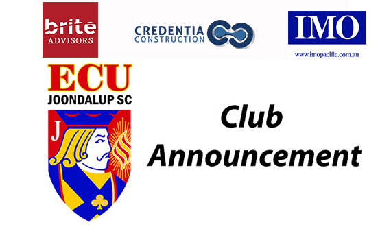 A message from the ECU Joondalup Soccer Club Committee