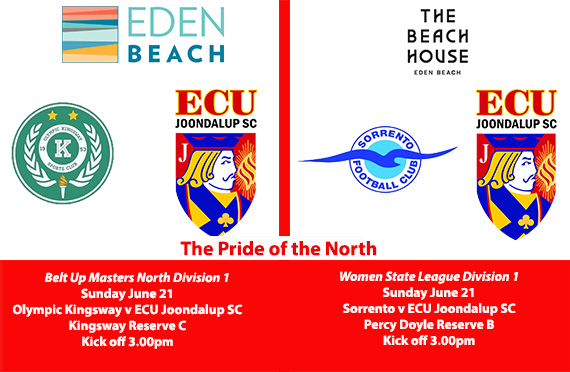 Jacks Masters and Women's teams in action on Sunday