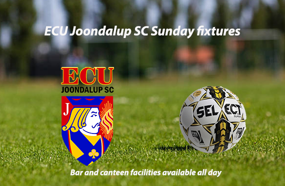 ECU Joondalup SC Sunday fixtures