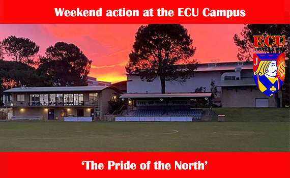Weekend action at the ECU Campus