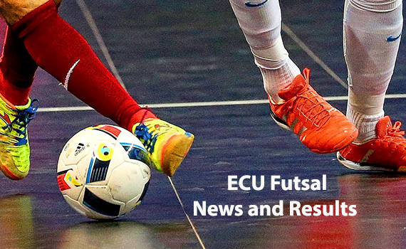 Latest ECU Futsal Results and Fixtures