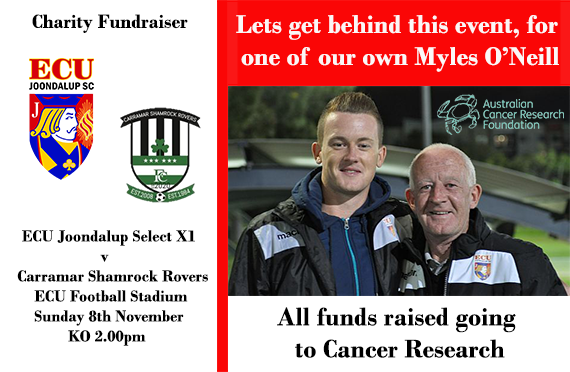 Charity Fundraising game on Sunday
