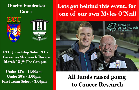 Charity fundraiser for cancer research next Saturday