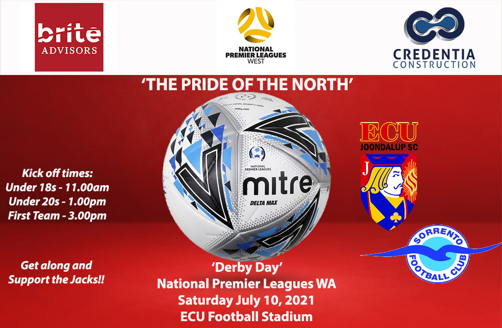 It's Derby Day for The Jacks on Saturday
