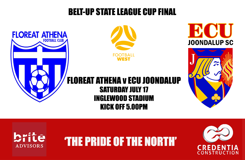 Jacks take on Floreat Athena in the State Cup Final