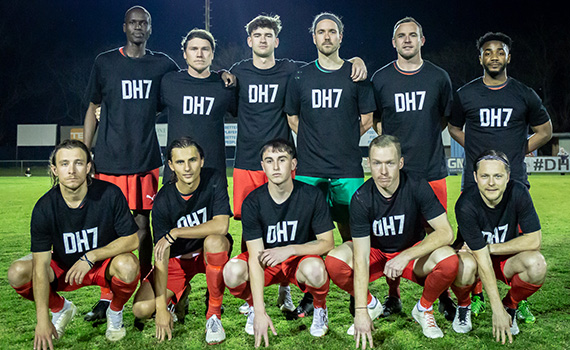 Get well soon #DH7 – as Glory beat Jacks in benefit game